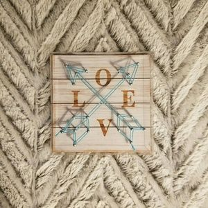 Other - LOVE Arrow String Art Small Sign